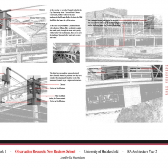 This work, part of the Construction and Environmental Design coursework, was undertaken during my second year of the B.A.(Hons.) (Part I) undergraduate degree.